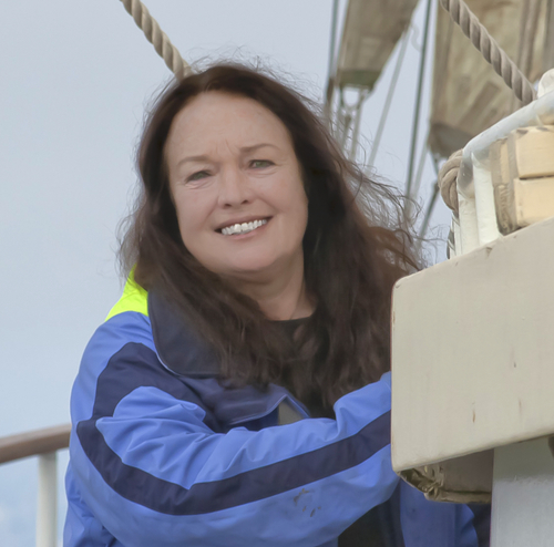 Mary Crowley, Founder Ocean Voyages Institute