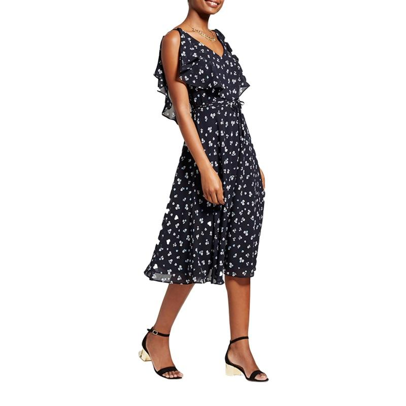 """<p><p><a rel=""""nofollow"""" href=""""http://rstyle.me/n/cnutbxjduw"""">Melonie T Floral Printed Woven Off The Shoulder Dress</a>, $55</p>"""