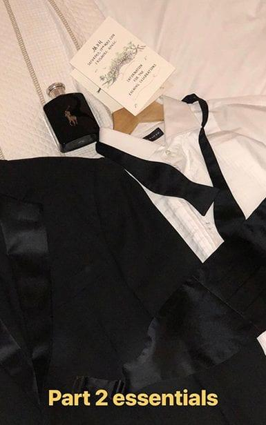 Nacho Figueras shared a picture on social media of his invite