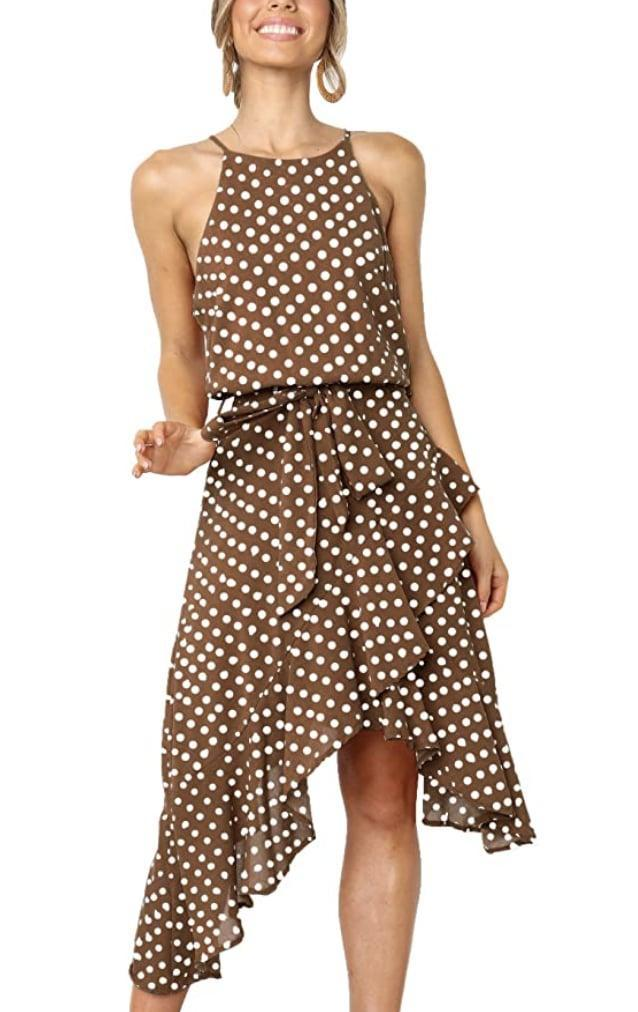 <p>Wear this <span>Ecowish Boho Polka-Dot Midi Dress</span> ($20 - $30) to your next brunch or chic city date. </p>