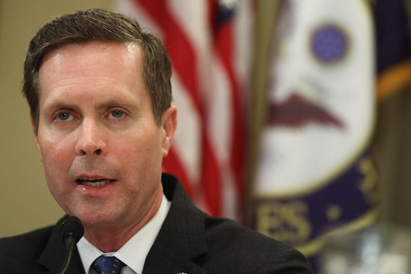 Central Illinois Republican US Rep. Rodney Davis says he's tested positive for COVID-19