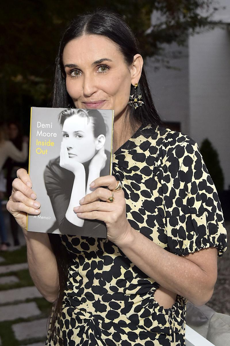Demi Moore's Book Tour Has Been Quite the Journey