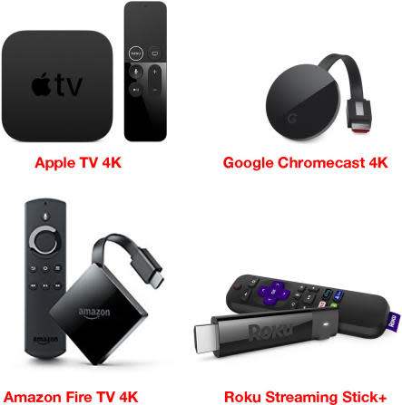 The four new streaming boxes offer 4K—but, more importantly, HDR.