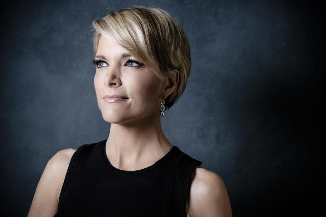 News anchor Megyn Kelly photographed at Fox News corporate headquarters in New York, 2016. (Chris Sorensen for the Washington Post)