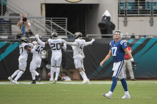Rivers looks to rebound from 2 interceptions in Colts opener