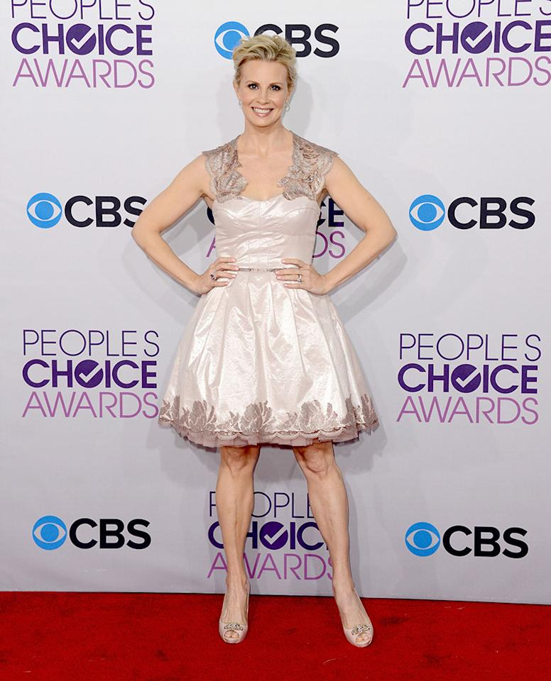 Monica Potter attends the 39th Annual People's Choice Awards at Nokia Theatre L.A. Live on January 9, 2013 in Los Angeles, California.