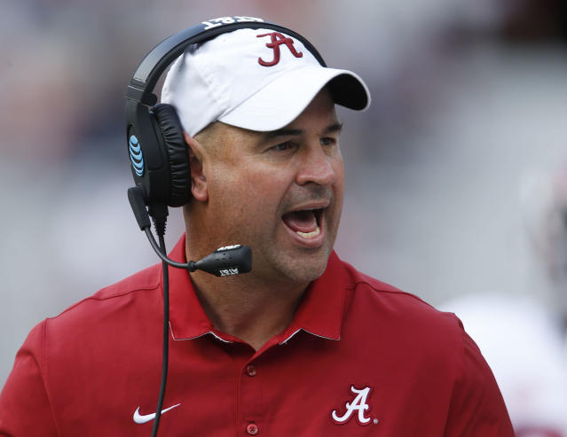 Tennessee hired Alabama defensive coordinator Jeremy Pruitt as its head coach on Thursday. (AP)