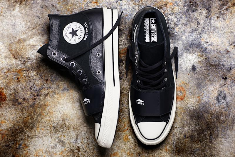 528a166c1f93 Converse and Neighborhood Made Sneakers to Ride Motorcycles In