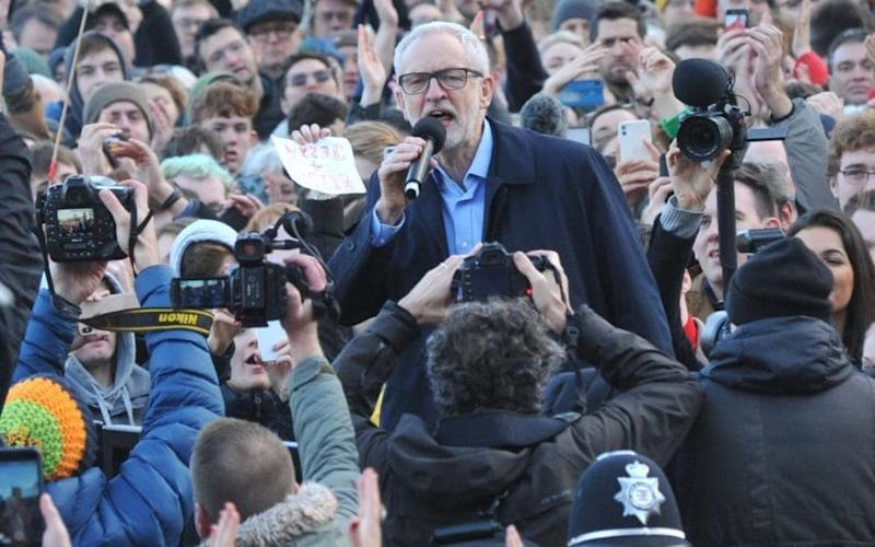 All cameras on Corbyn: Entrepreneurs vow to leave the UK if he wins - Jay Williams