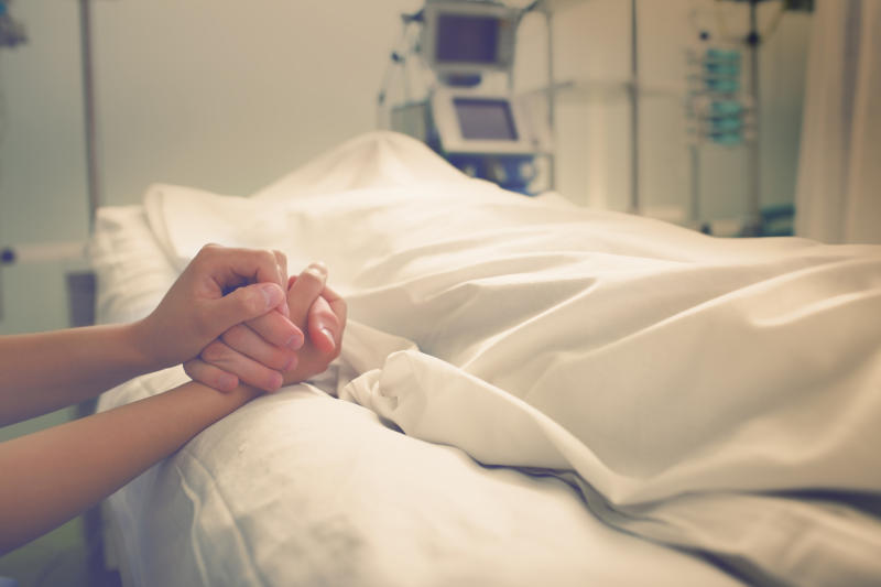 In some cases it may not be physically possible to say goodbye to a loved one. (Getty Images)