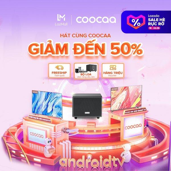 Coocaa to Kick off Mid-Year Promotion on LAZADA with a Wide Range of Customer Benefits