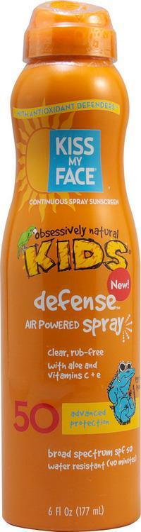 Kiss My Face's new Kids Defense Air Powered Spray