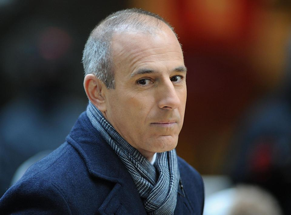 Matt Lauer at the <em>Today</em> show in 2012. (Photo by Slaven Vlasic/Getty Images)