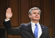 FBI director testifies about Jan. 6 riots, domestic terror threats