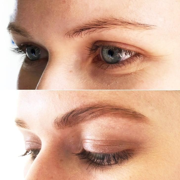<p>I was able to easily create a shape and a fuller brow in just minutes.</p>
