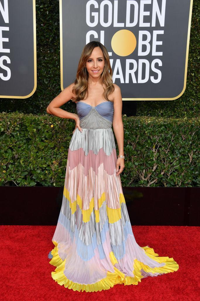 <p>Lilliana Vazquez attends the 76th Annual Golden Globe Awards at the Beverly Hilton Hotel in Beverly Hills, Calif., on Jan. 6, 2019. (Photo: Getty Images) </p>