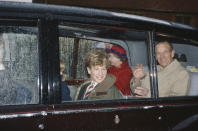 """<div class=""""caption-credit"""">Photo by: Getty Images</div>Peter Phillips, cousin of Princes William and Harry, was not given a title due to mom Anne's wishes that he and sister Zara enjoy a normal upbringing. But the 14-year-old sure knows how to flash a royal smile. <br>"""
