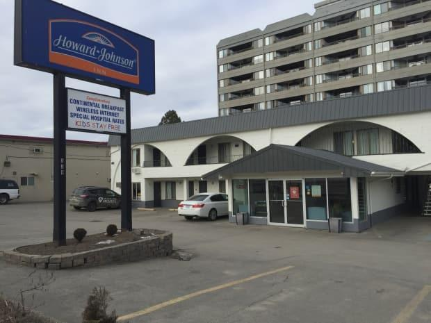 Police were called to the Howard Johnson motel on Columbia Street Saturday night after shots were fired.