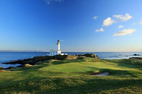 <span>The Trump Turnberry's Ailsa golf course</span> <span>Credit: 2016 Getty Images/David Cannon </span>