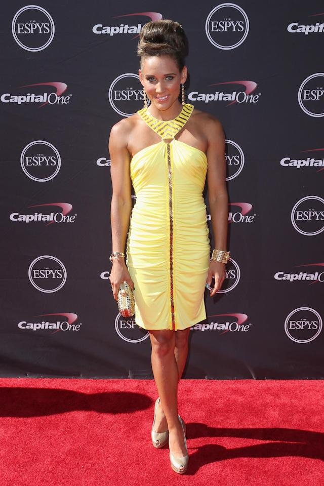 LOS ANGELES, CA - JULY 17: Track and field athlete Lolo Jones attends The 2013 ESPY Awards at Nokia Theatre L.A. Live on July 17, 2013 in Los Angeles, California. (Photo by Frederick M. Brown/Getty Images)