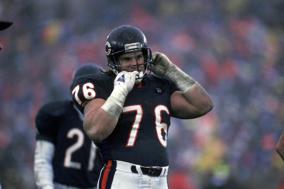 Steve McMichael of the Bears.