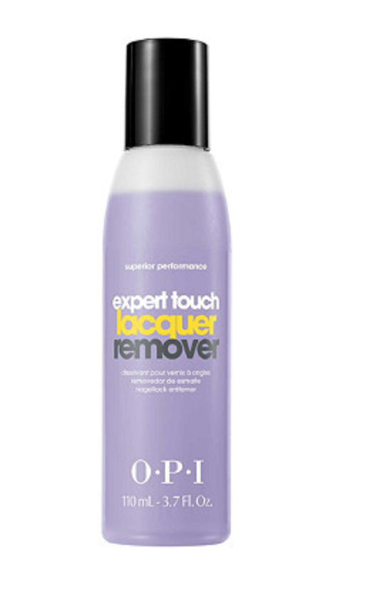 """<h2>OPI Expert Touch Lacquer Remover<br></h2>Remove all traces of leftover polish with this professional remover that gets the job done without leaving nails feeling dry or brittle.<br><br><strong>OPI</strong> Expert Touch Lacquer Remover, $, available at <a href=""""https://go.skimresources.com/?id=30283X879131&url=https%3A%2F%2Fwww.ulta.com%2Fexpert-touch-lacquer-remover%3FproductId%3DxlsImpprod5180221"""" rel=""""nofollow noopener"""" target=""""_blank"""" data-ylk=""""slk:Ulta Beauty"""" class=""""link rapid-noclick-resp"""">Ulta Beauty</a>"""
