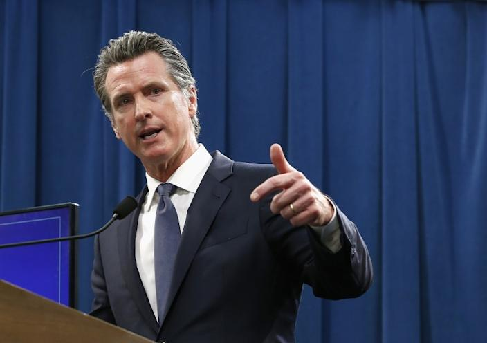 "Gov. Gavin Newsom says decisions on reopening California's public schools will be made by local education and health officials. He said Wednesday, ""I'm not worried about the latest tweets"" from President Trump. <span class=""copyright"">(Rich Pedroncelli / Associated Press)</span>"