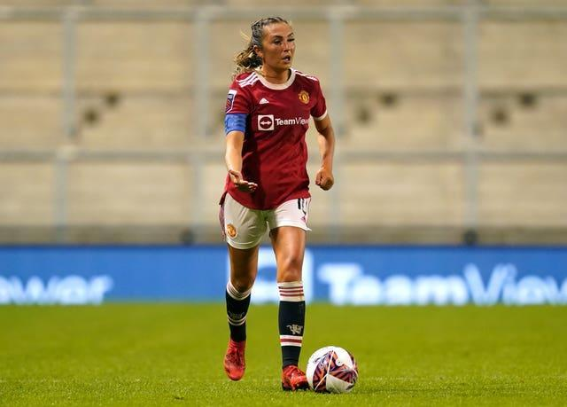 Manchester United's Katie Zelem has received an England call