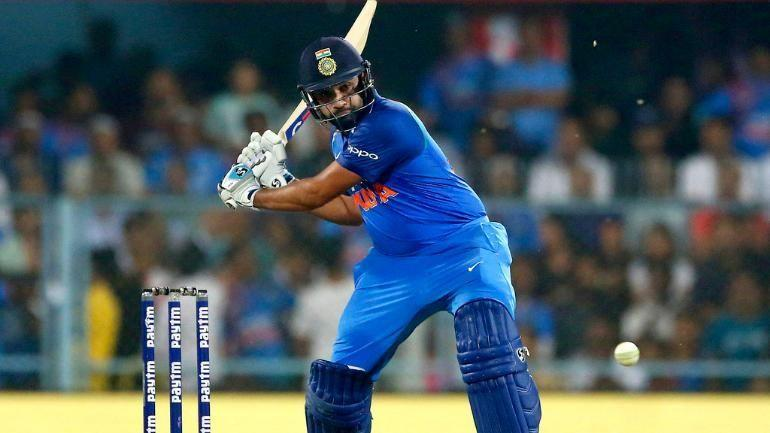 Rohit Sharma scored 162 runs in a match against Windies in 2018