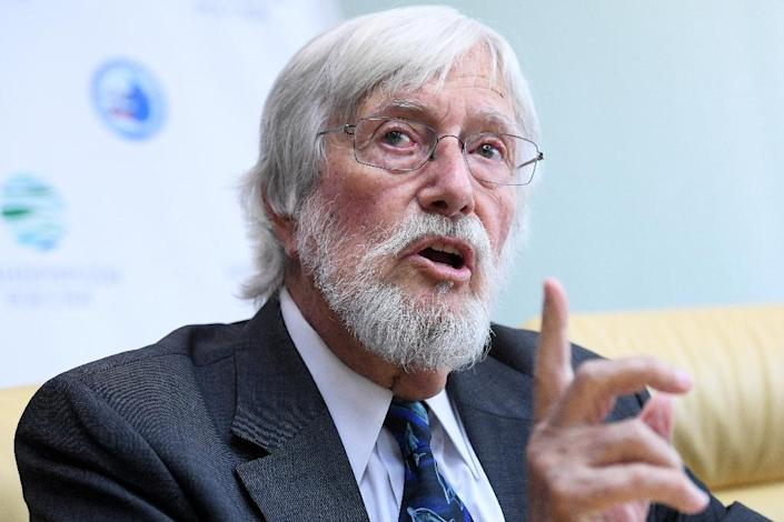 Russian officials said they would release the animals after holding talks with Jean-Michel Cousteau, the son of celebrated ocean explorer Jacques Cousteau (AFP Photo/Kirill KUDRYAVTSEV)