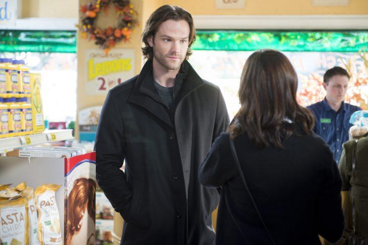 Jared Padalecki and Alexis Bledel (Credit: Netflix)
