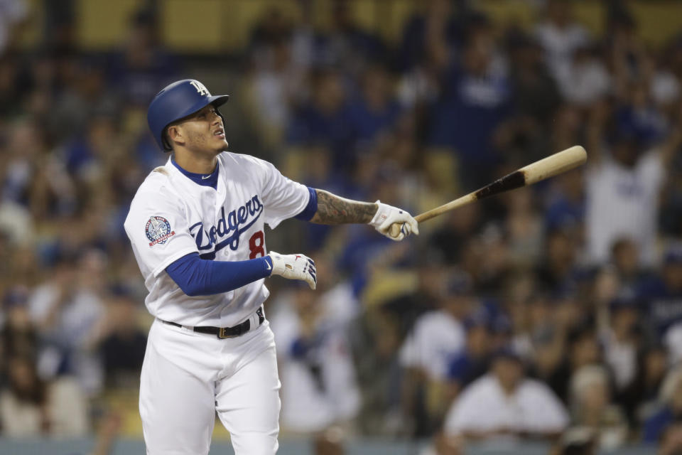 Manny Machado is in line to make more than $300 million. (AP)