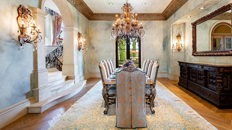 The dining room - Credit: Photo: Wayne Ford