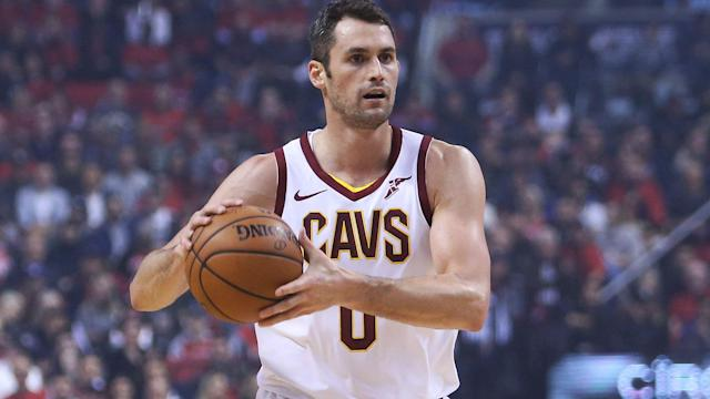 The Cavs could eventually look to move Kevin Love. (AP)