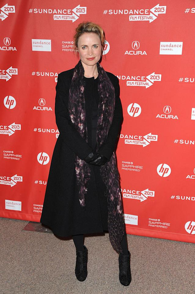 "Radha Mitchell attends the ""A.C.O.D."" Premiere during the 2013 Sundance Film Festival at Eccles Center Theatre on January 23, 2013 in Park City, Utah."