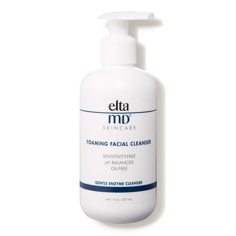 "<h2>EltaMD Foaming Facial Cleanser</h2> <br><br><br>Holmes also suggests her clients with acne pick up this formula from EltaMD, a line many dermatologists and experts swear by. ""It's oil-free and has enzymes, like bromelain, to help gently exfoliate,"" she says.  <br><br><strong>EltaMD</strong> Foaming Facial Cleanser, $, available at <a href=""https://go.skimresources.com/?id=30283X879131&url=https%3A%2F%2Fwww.dermstore.com%2Fproduct_Foaming%2BFacial%2BCleanser_32762.htm"" rel=""nofollow noopener"" target=""_blank"" data-ylk=""slk:DermStore"" class=""link rapid-noclick-resp"">DermStore</a><br><br><br>"