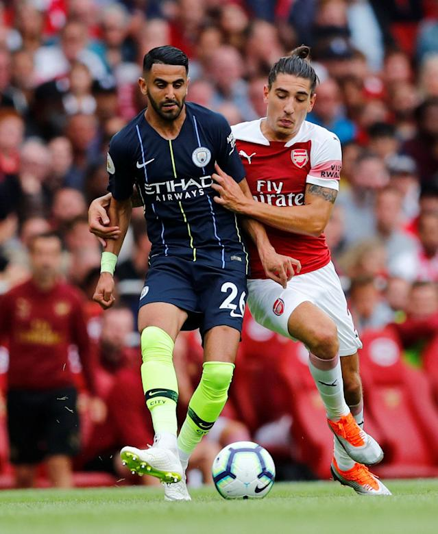 Riyal Mahrez has started both of City's competitive games this season after his multi-million pound move