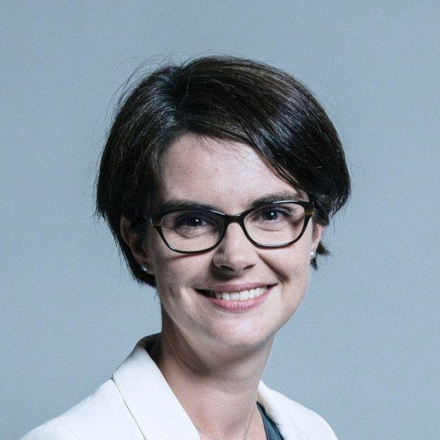 Chloe Smith, Conservative MP for Norwich North is married to Sandy McFadzean who claimed coronavirus is a 'mental illness' (UK Parliament/PA)