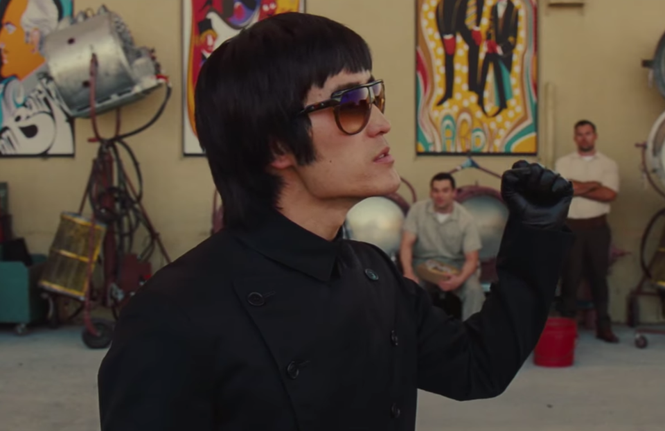 Bruce Lee means business (Sony Pictures)