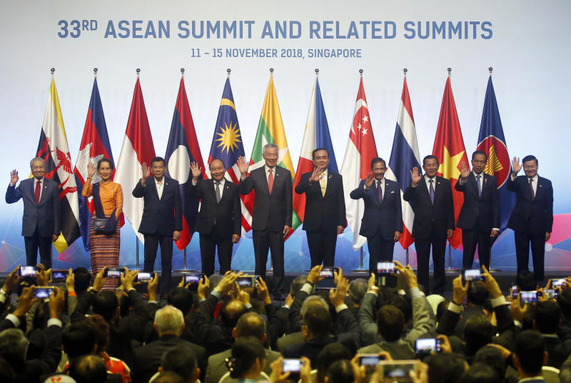 The Latest: Southeast Asian meet starts with call for unity