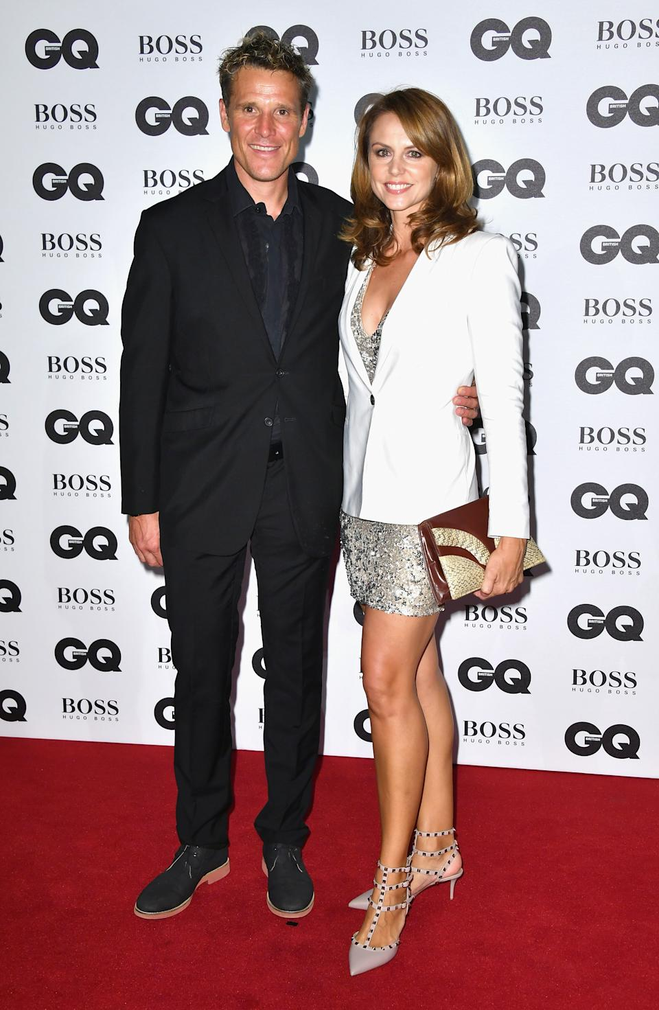 LONDON, ENGLAND - SEPTEMBER 06:  James Cracknell and Beverley Turner arrive for GQ Men Of The Year Awards 2016 at Tate Modern on September 6, 2016 in London, England.  (Photo by Gareth Cattermole/Getty Images)