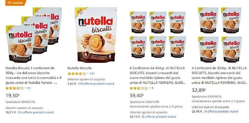 nutella biscuits amazon