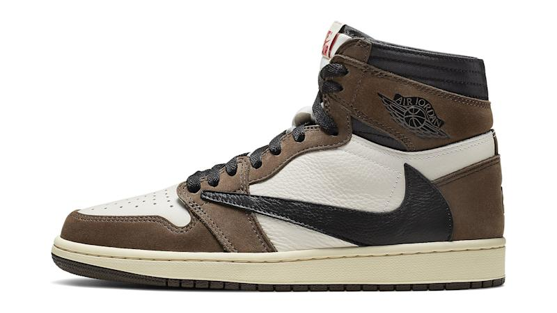 finest selection 98b88 9731f Travis Scott s Air Jordan 1 Shoe Could Be Yours for Just  1