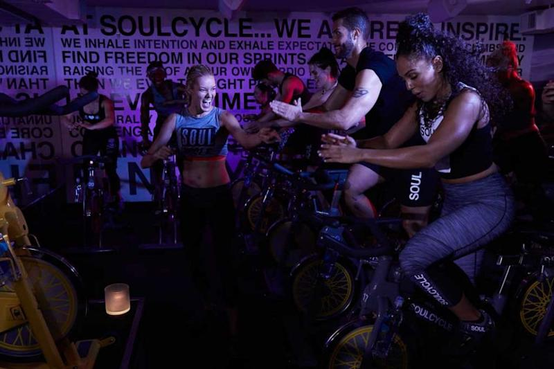 Soulcycle is the latest fitness trend and has revolutionised indoor cycling. Source: Deborah Dickson-Smith