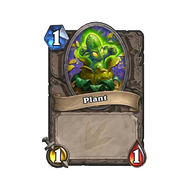<p>Plants pop right out of a minion that had Living Spores. </p>