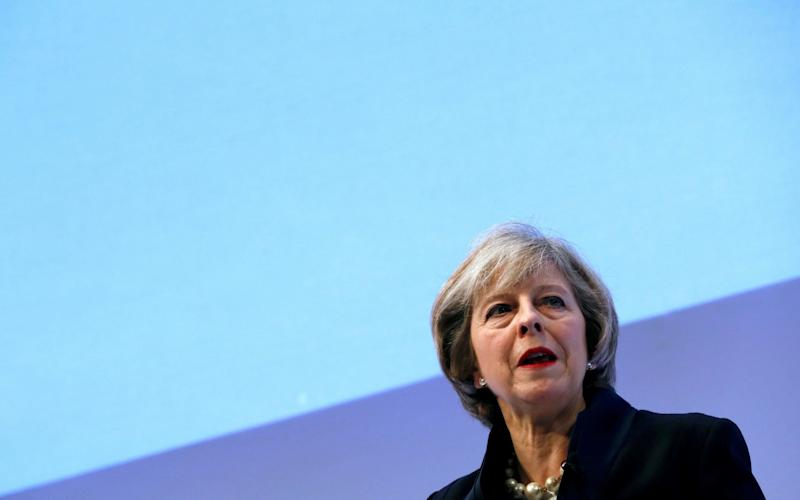 Theresa May, the Prime Minister - Credit: Stefan Wermuth/Reuters