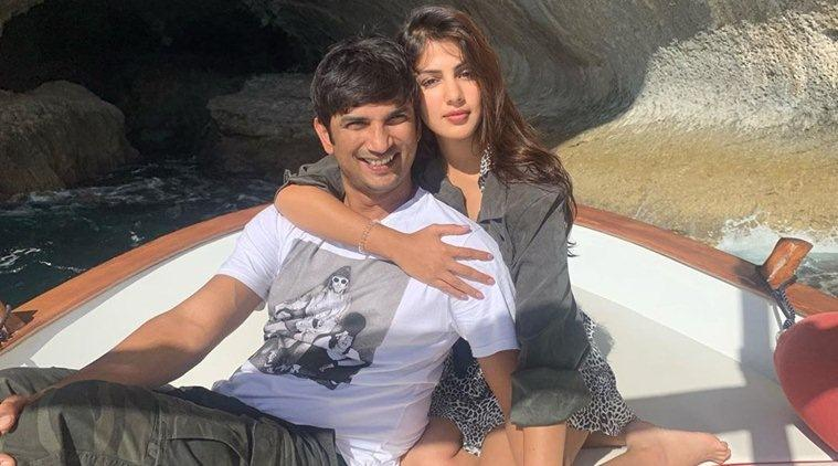 Rhea Chakraborty Sushant Singh Rajput photo