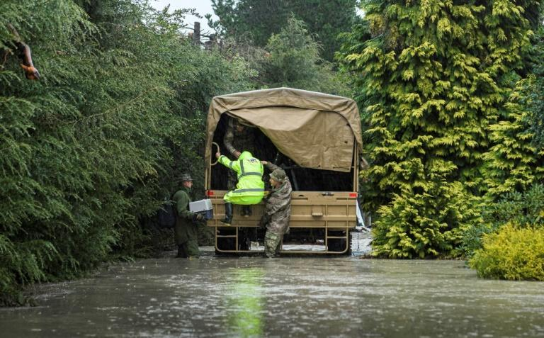 New Zealand has deployed its military to help rescue residents from flood-hit areas