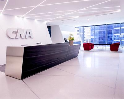 CNA's move is about much more than where the Company is located or a new building — it is about a workspace that enables and encourages collaboration across all functions and dimensions.