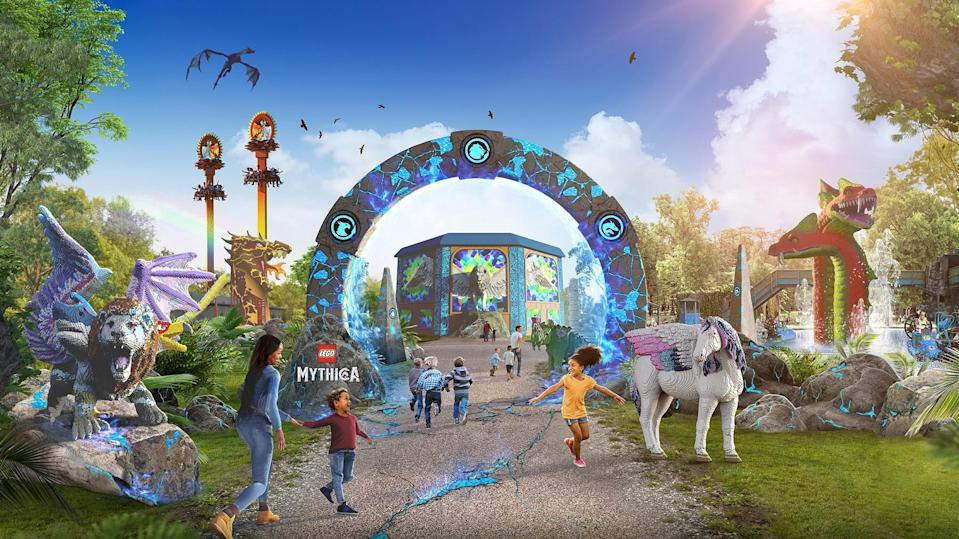 The new section is due to open on May 29 (Legoland Windsor/PA)